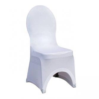 Pokrowiec na krzesła z okrągłym oparciem